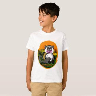 Camiseta O t-shirt do menino do macaco de Mona