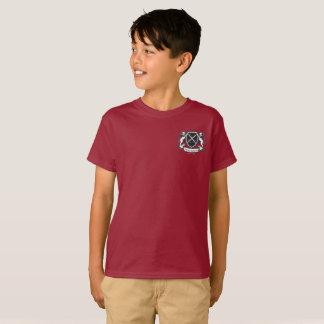 Camiseta O t-shirt do menino marrom de VCA
