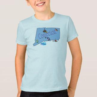Camiseta O t-shirt do miúdo de Connecticut