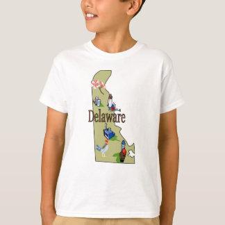 Camiseta O t-shirt do miúdo de Delaware