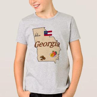 Camiseta O t-shirt do miúdo de Geórgia