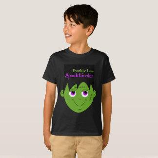 Camiseta O t-shirt do miúdo de Spooktacular o Dia das