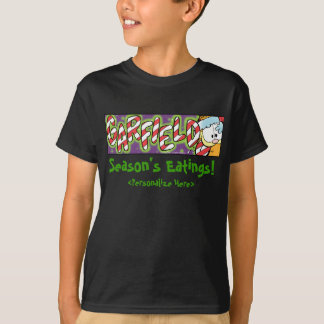 Camiseta O t-shirt do miúdo do Eatings da estação de