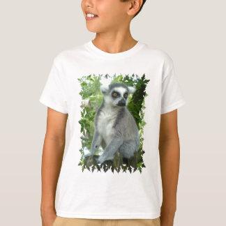 Camiseta O t-shirt do miúdo do Lemur de Madagascar