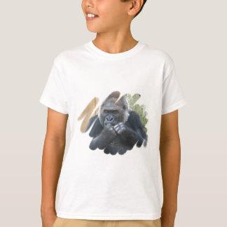 Camiseta O t-shirt do miúdo do primata do gorila