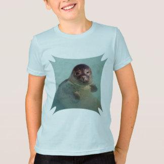 Camiseta O t-shirt do miúdo do selo de porto