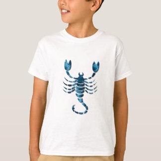 Camiseta O t-shirt do miúdo do zodíaco da Escorpião