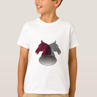 Camiseta O t-shirt do miúdo dos cavaleiros