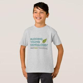 Camiseta O t-shirt do miúdo novo de brotamento do