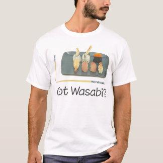 Camiseta O t-shirt do miúdo obtido do sushi de Wasabi