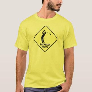 Camiseta O t-shirt do noivo do despedida de solteiro do