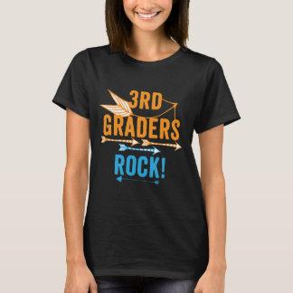 Camiseta ó T-shirt do professor da rocha dos graduadores