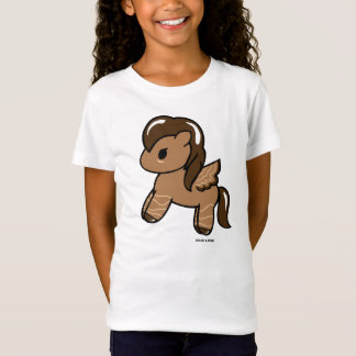 Camiseta O t-shirt Dolce das meninas do chocolate Pony| & o