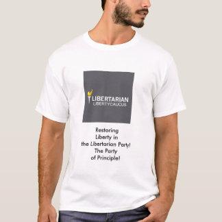Camiseta O t-shirt dos homens básicos do comité da