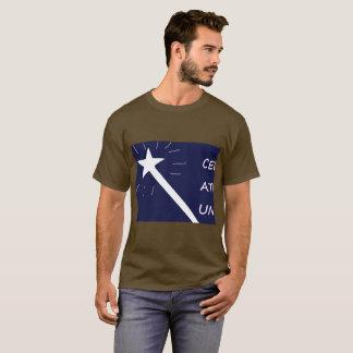 Camiseta O t-shirt dos homens bem-desenvolvidas da