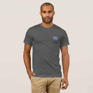 Camiseta O t-shirt dos homens com design do abstrato das