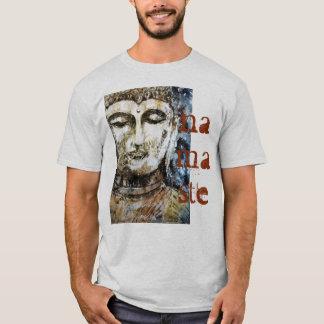 Camiseta O t-shirt dos homens da aguarela de Buddha Namaste