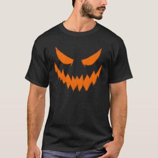 Camiseta O t-shirt dos homens da cara da lanterna do