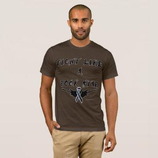 Camiseta O t-shirt dos homens da estrela do rock da