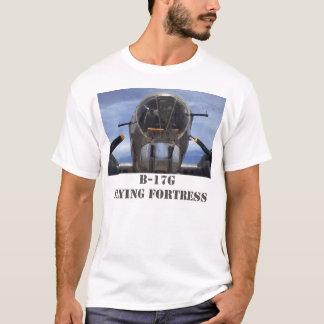 Camiseta O t-shirt dos homens da fortaleza do vôo de B-17G