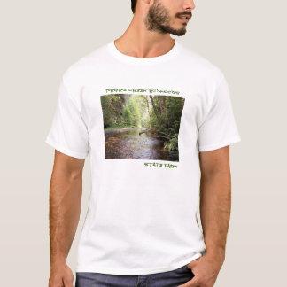 Camiseta O t-shirt dos homens das sequóias vermelhas de
