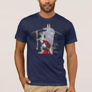 Camiseta O t-shirt dos homens de Anubis Whisps