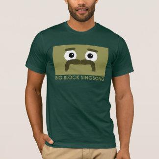 Camiseta O t-shirt dos homens de BBSS Moustachios #3