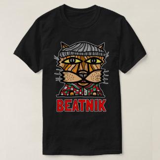 """Camiseta O t-shirt dos homens de BuddaKats do """"Beatnik"""""""