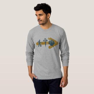 Camiseta O t-shirt dos homens de Camino de Santiago