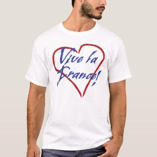 Camiseta O t-shirt dos homens de France do la de Vive