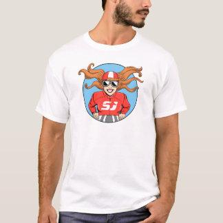 Camiseta O t-shirt dos homens de Judy do side-car