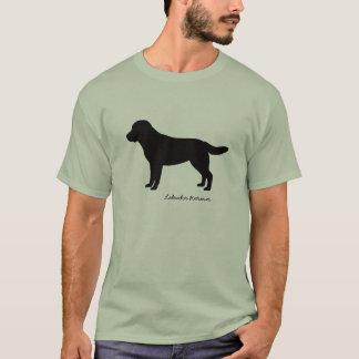 Camiseta O t-shirt dos homens de labrador retriever