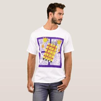 Camiseta O t-shirt dos homens de patinagem do sabão