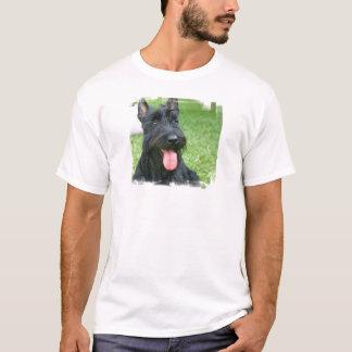 Camiseta O t-shirt dos homens do cão de Terrier do Scottish