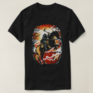 Camiseta O t-shirt dos homens do cavaleiro decapitado