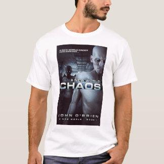 Camiseta O t-shirt dos homens do cobrir do caos