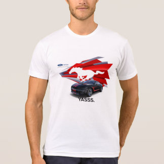 Camiseta O t-shirt dos homens do Customizer do mustang