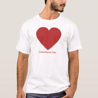 Camiseta O t-shirt dos homens do dia dos namorados