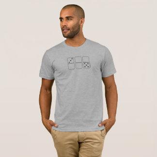 Camiseta O t-shirt dos homens do dominó de TresZeroCinco™