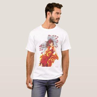 Camiseta O t-shirt dos homens do duende do fogo da fantasia
