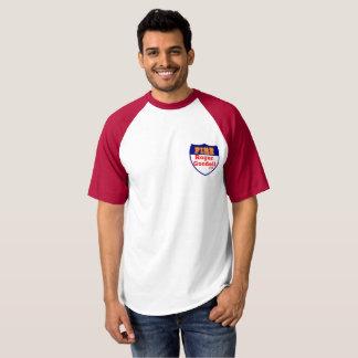 Camiseta O t-shirt dos homens do estilo do basebol de Roger