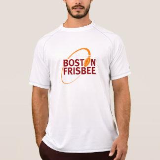 Camiseta O t-shirt dos homens do Frisbee de Boston (branco)