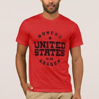 Camiseta O t-shirt dos homens do Grunge do futebol das