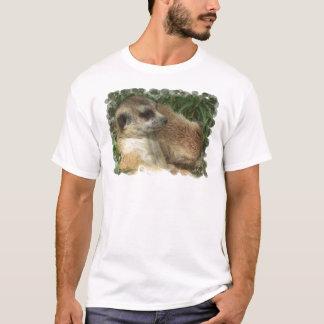 Camiseta O t-shirt dos homens do habitat de Meerkat