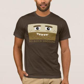 Camiseta O t-shirt dos homens do homem das cavernas de BBSS