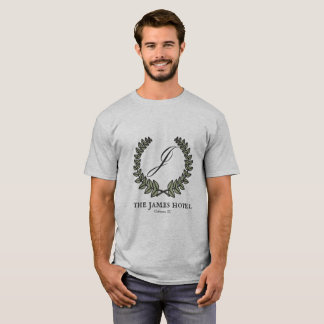 Camiseta O t-shirt dos homens do hotel de James