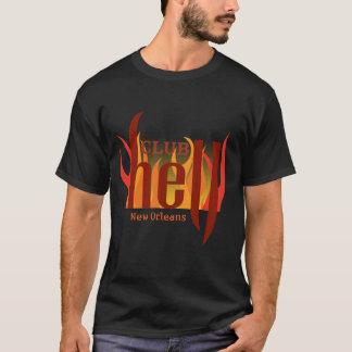 Camiseta O t-shirt dos homens do inferno do clube
