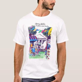 Camiseta O t-shirt dos homens do jubileu do primavera na