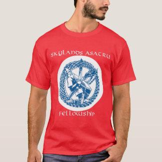 Camiseta O t-shirt dos homens do logotipo do tribo
