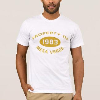 Camiseta O t-shirt dos homens do Mesa Verde